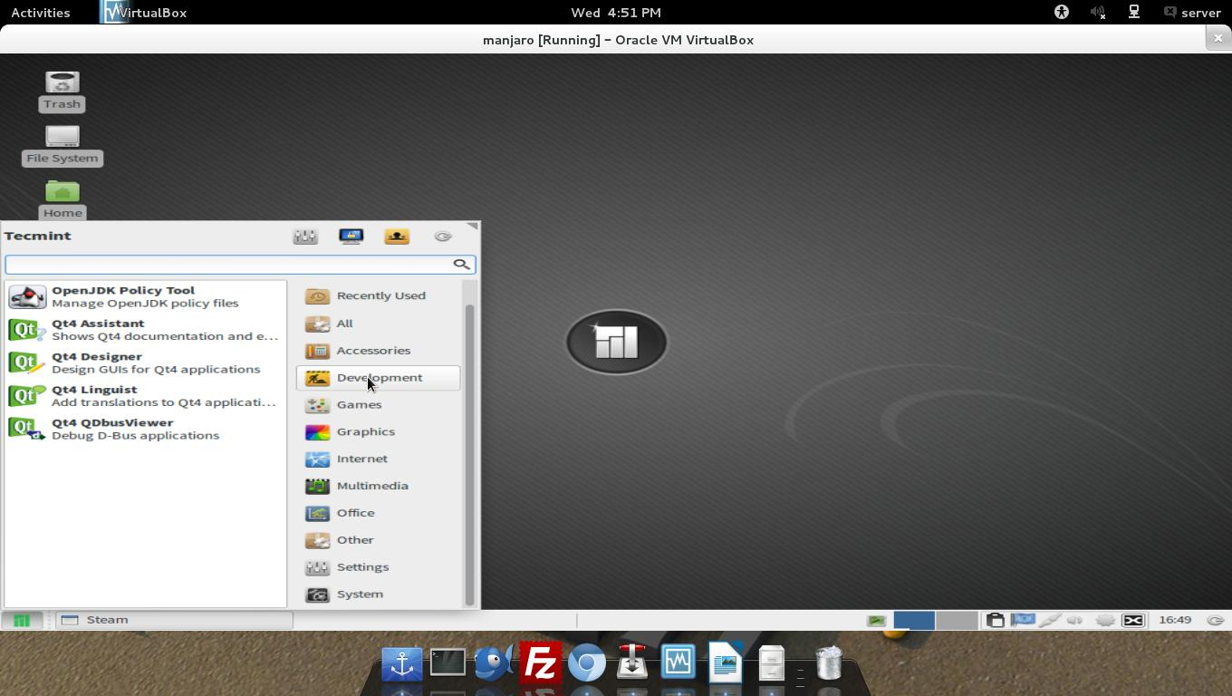 Manjaro 0 8 9 Released - A Ultimate Linux OS with Windows