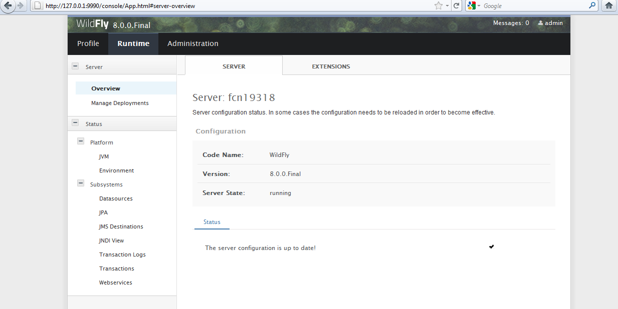 WildFly 8 - A New Improved JBoss Application Server for Linux