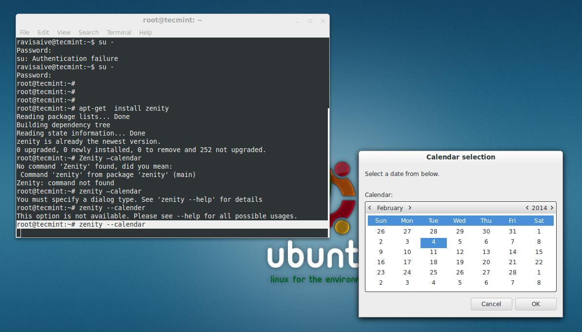 Zenity Creates Graphical Gtk Dialog Boxes In Command