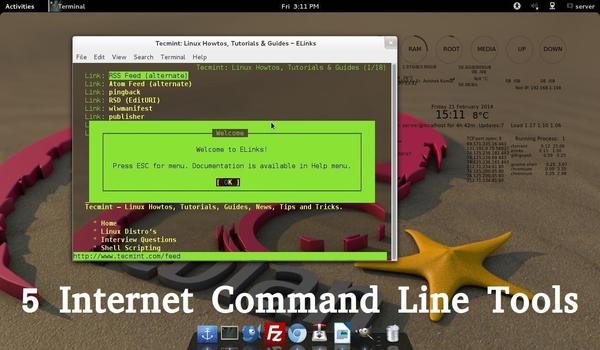 5 Linux Command Line Based Tools for Downloading Files and