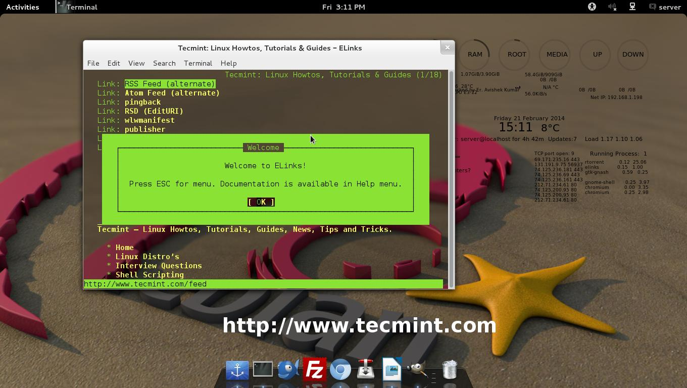 5 Linux Command Line Based Tools For Downloading Files And Browsing Websites