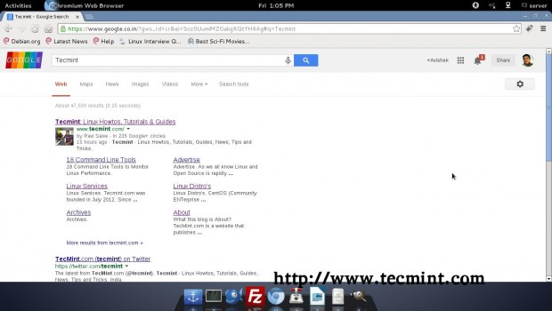 Googlizer Results