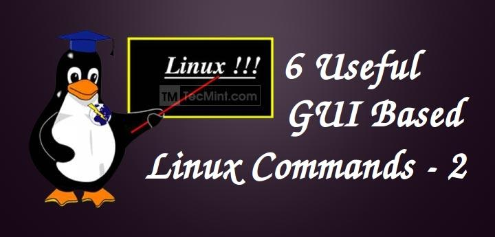 Gui Based Linux Commands