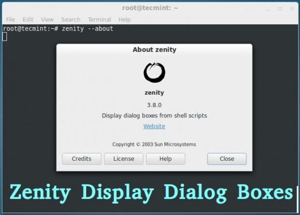 Install Zenity in Linux
