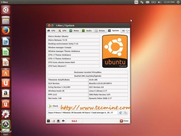 Linux System OS Information