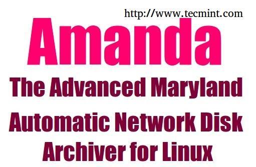 Install Amanda in Linux