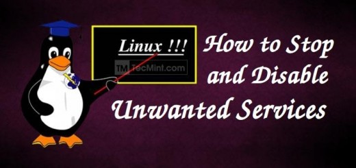 Disable Unwanted Services in Linux