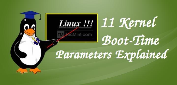 Linux Kernel Parameters Explained