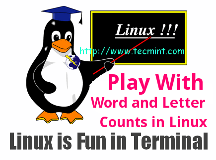 Word Count in Linux
