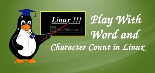 Play with Words in Linux