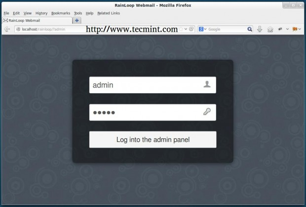 RainLoop Webmail Login