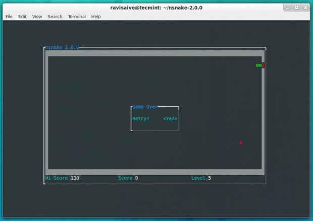 how to play games on terminal