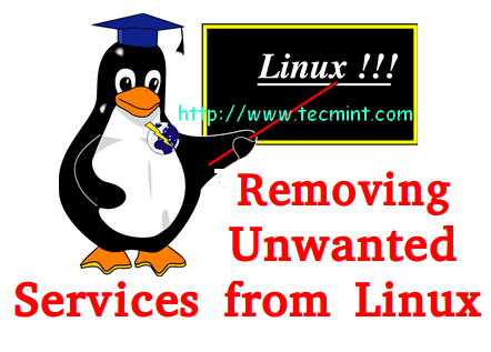 Remove Unwanted Services From Linux