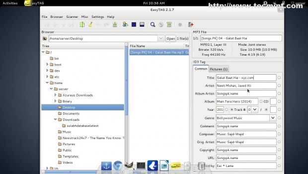 Edit MP3 File Tags
