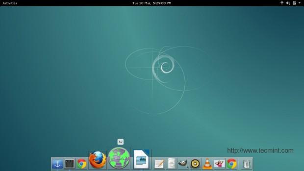 Add Tor Shortcut on Desktop