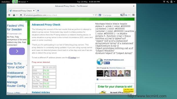 Checking IP Address