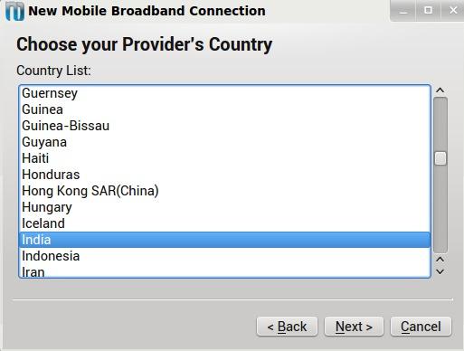 Select Mobile Provider