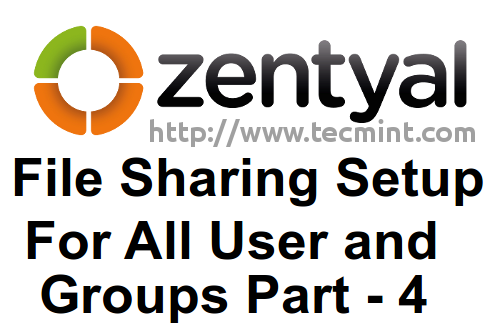 File Sharing in Zentyal PDC