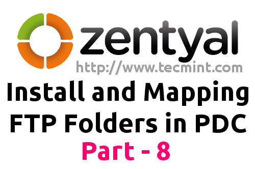 Install Mapping FTP Folders in Zentyal PDC