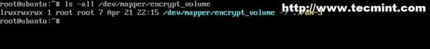 Verify Encrypted Partition