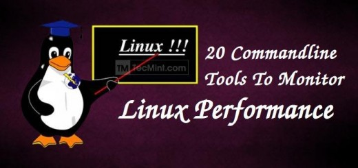 Linux Commandline Monitoring Tools