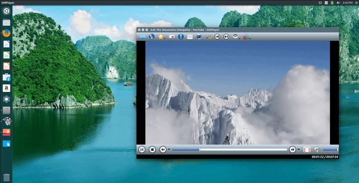 SMPlayer Running on Ubuntu 16.04