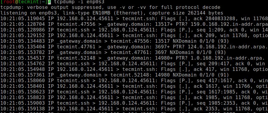 Tcpdump - Network Packet Analyzer