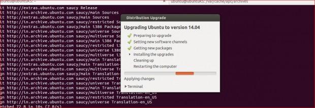 Ubuntu Upgrading