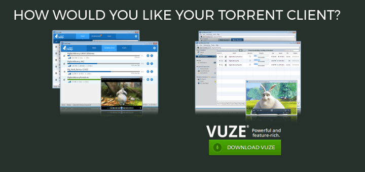 Vuze Torrent Client for Linux