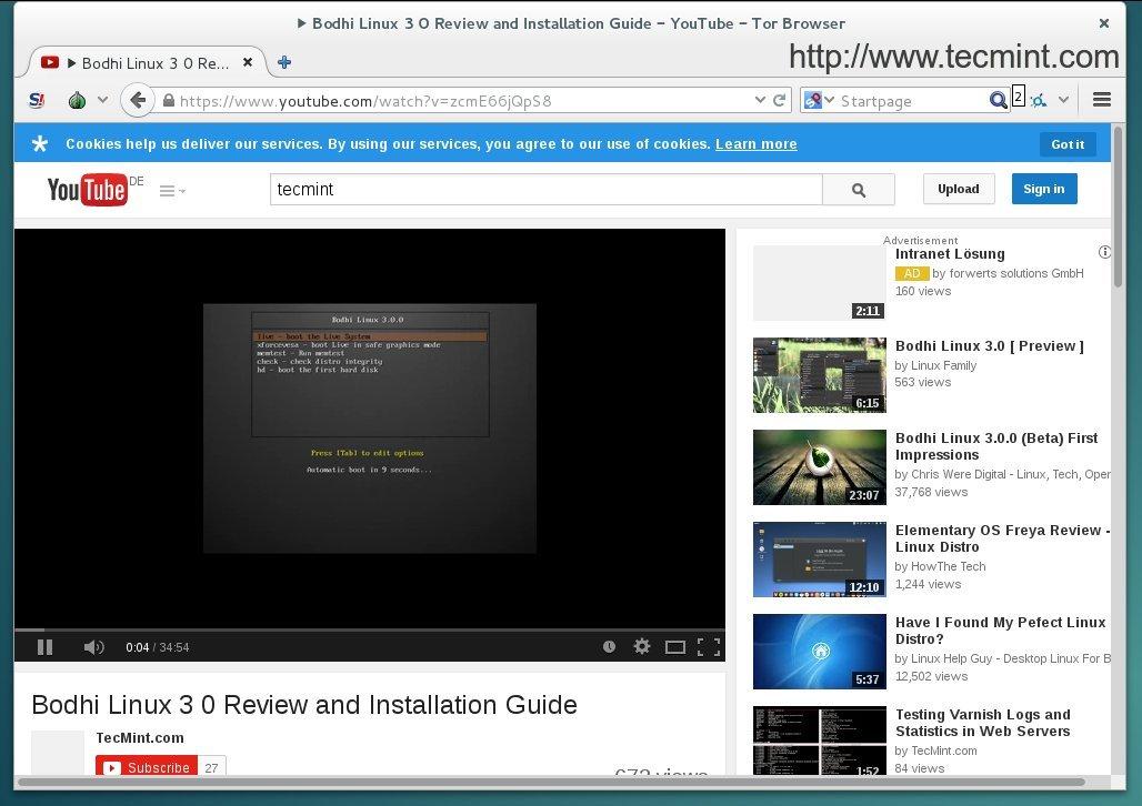 tor browser смотреть видео гирда