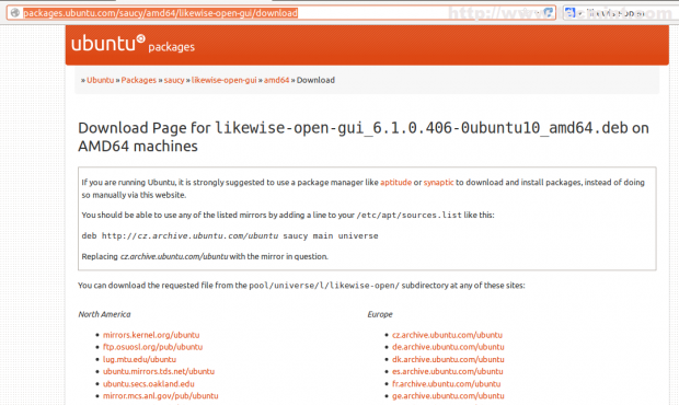 Download Likewise Open Package