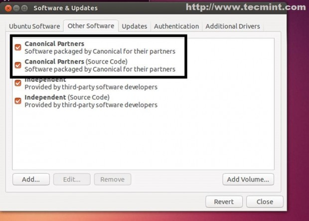 Select Canonical Parteners