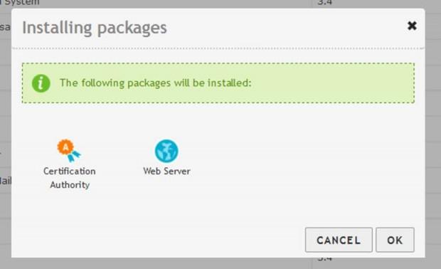 Installing Web Server