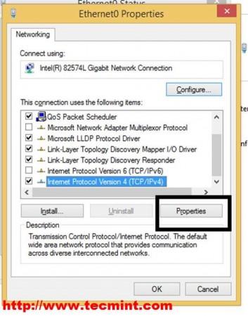 Select IPv4