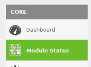 Modules Status