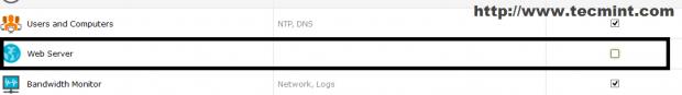 Select Web Server