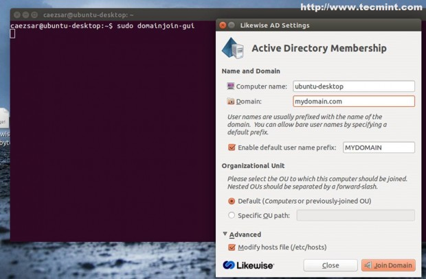Integrating Ubuntu 14.04 to Zentyal PDC