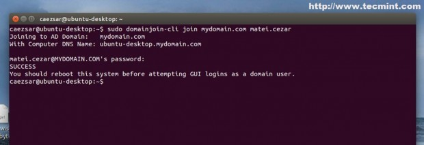 Domain Integration Using CLI