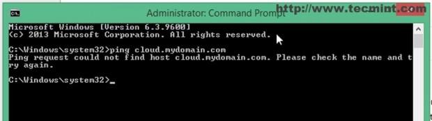 Ping Domain