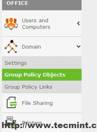 Group Policy Objects