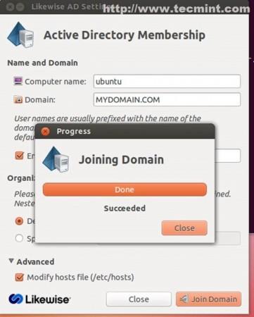 Joining Domain