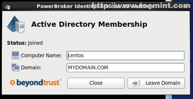 Active Directory  Membership