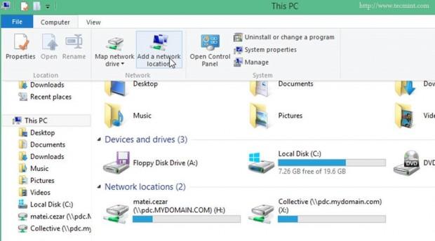 FTP Folder Mapping on Windows