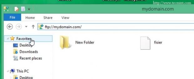 FTP Share Folders