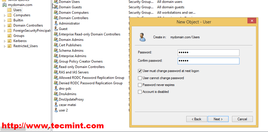 How to Manage Zentyal PDC (Primary Domain Controller) from Windows
