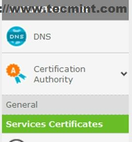Link Certificate to Apache