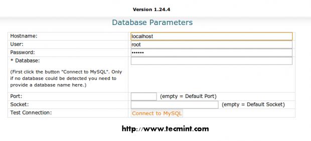 Database Parameters