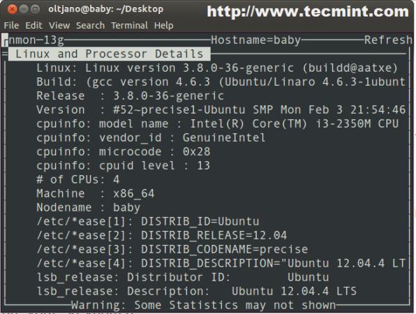 Get Linux System Information