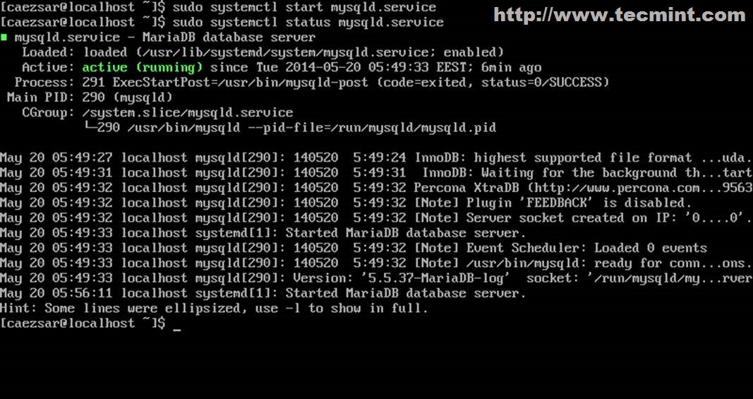 installing lamp  linux  apache  mysql  mariadb  and php