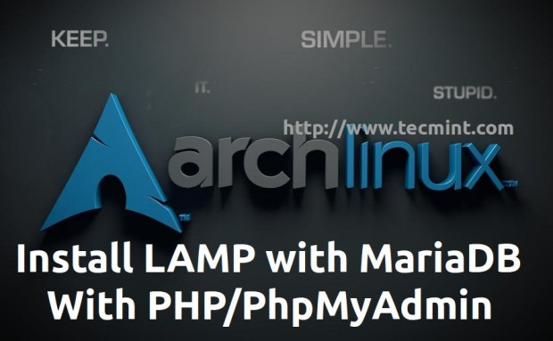 Install LAMP in Arch Linux